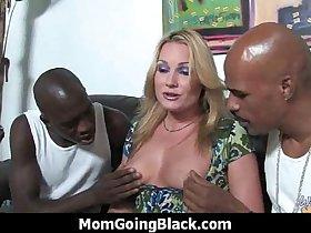 Hot milf fucks hard an huge black cock 7