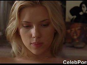 Scarlett Johansson lingerie and sex scenes