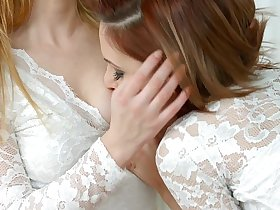 Shy girlfriend by Sapphic Erotica - sensual erotic lesbian porn with Candy Sweet