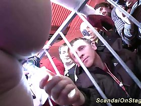 scandal show on public stage