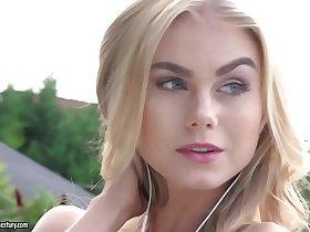 Blonde beauty riding a big dick - Nancy A, Martin Martinelli