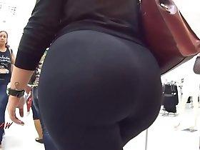 Candid Big Booty Bubble Butt Culo Mega Brazil Thick Curvy Pawg BBW - Premium 45