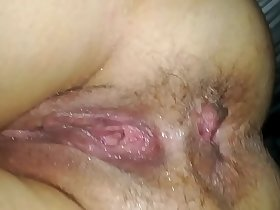 Fucked passed out wife's ass asshole and pussy