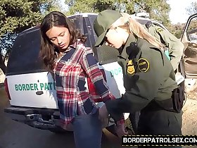 Fuck that illegal pussy officers