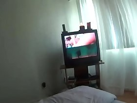 Me&neighbor Mrs Chawla-shower to bed&sofa watching porn movie multi sessions
