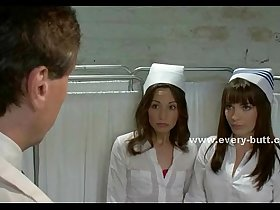 Nurses play innocent with doctor