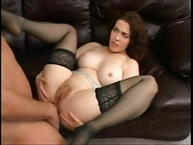 Slutty milf  anal in Nylons