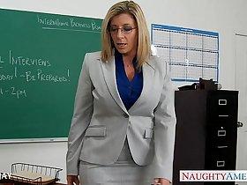 MILF Teacher Sara Jay fuck student