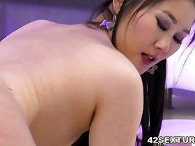 Asian slut needs big european dick